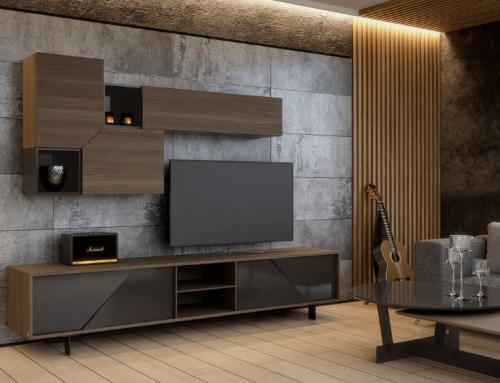 Έπιπλο τηλεόρασης σύνθεση: Καλύπτει όλες τις ανάγκες του χώρου σας