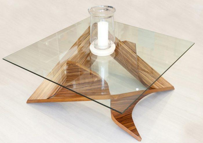 coffee table zebrano