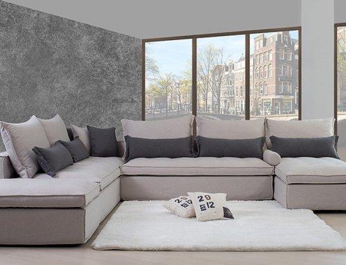 Καναπές με αποθηκευτικό χώρο για μέγιστη λειτουργικότητα στο καθιστικό