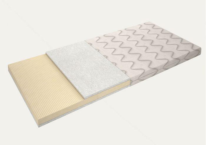 mattress pad latex 4 cm