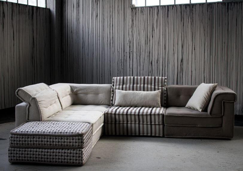 Καναπές Γωνία Cubic