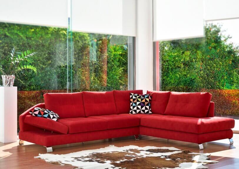 χρώματα καναπέδων
