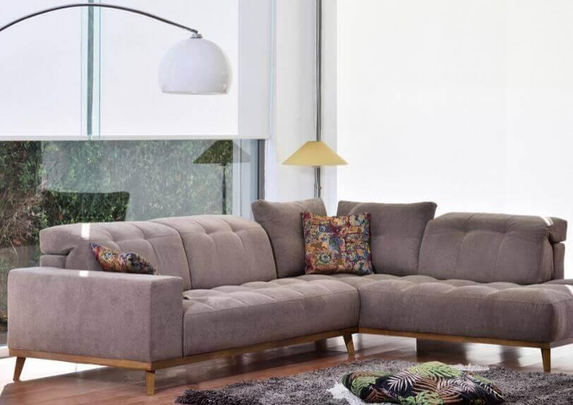 καναπές γωνία μοντέρνος