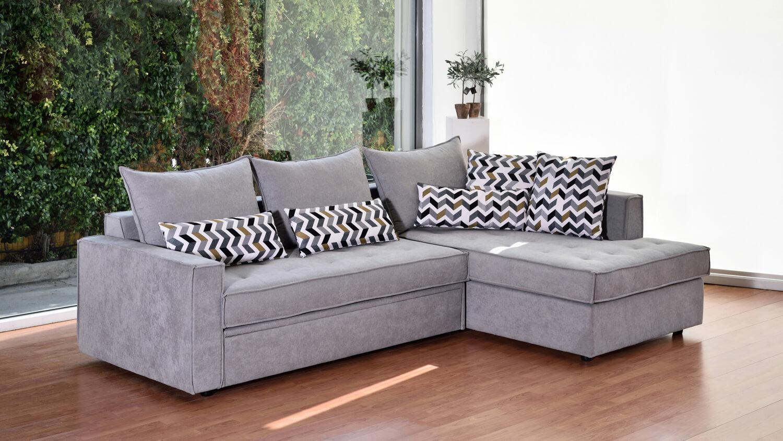 Γωνιακός Καναπές Κρεβάτι Apollo