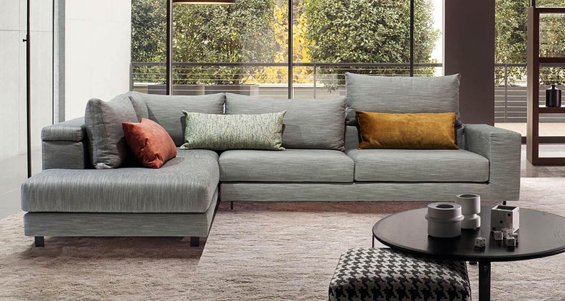 Γωνιακός καναπές Nuovo